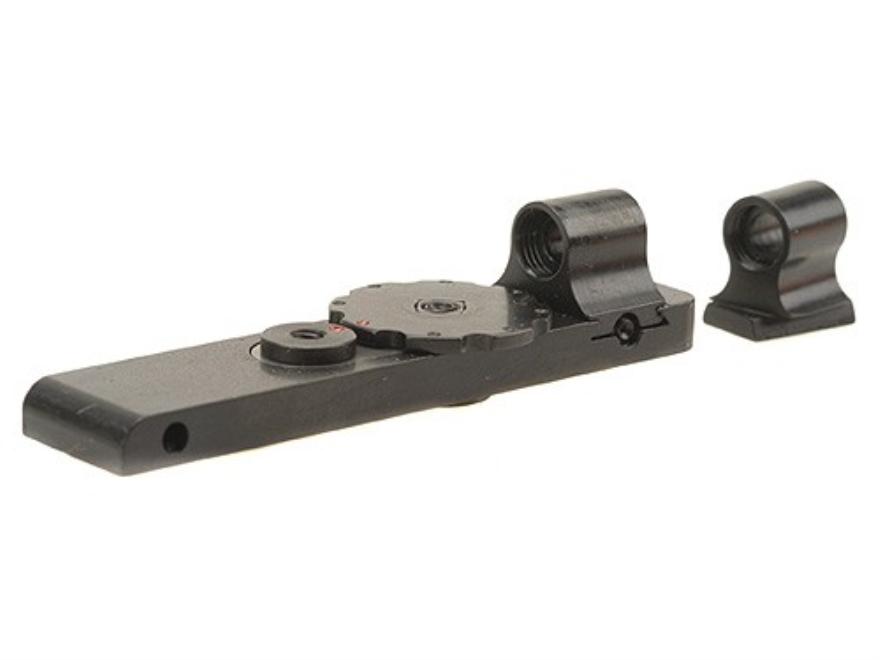 Mojo Micro Click Snap Sight Front and Rear Set Schmidt-Rubin K31, 11 Steel Blue