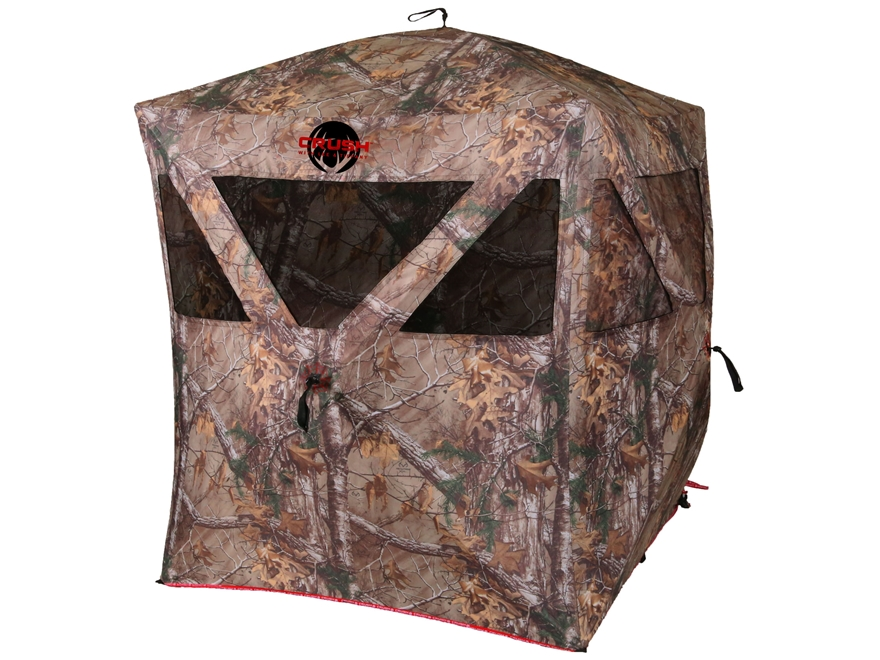"Ameristep The Crush Enforcer Ground Blind 86"" x 69"" x 67"" Polyester Realtree Xtra Camo"