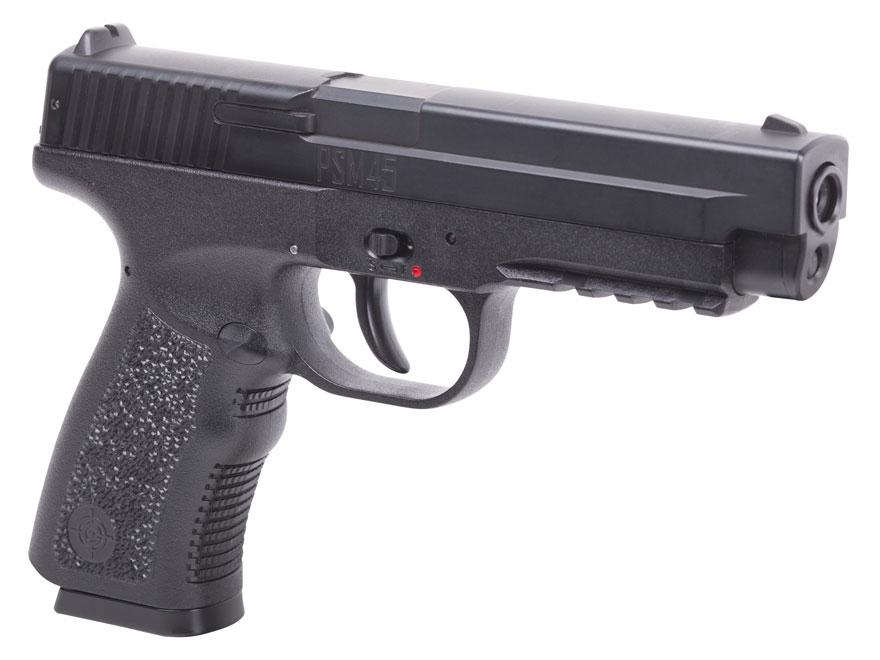 Crosman PSM45 Air Pistol 177 Caliber BB Black