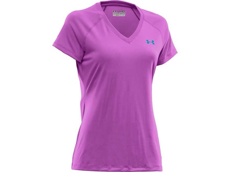 under armour women 39 s ua tech short sleeve t shirt upc 887547641886. Black Bedroom Furniture Sets. Home Design Ideas