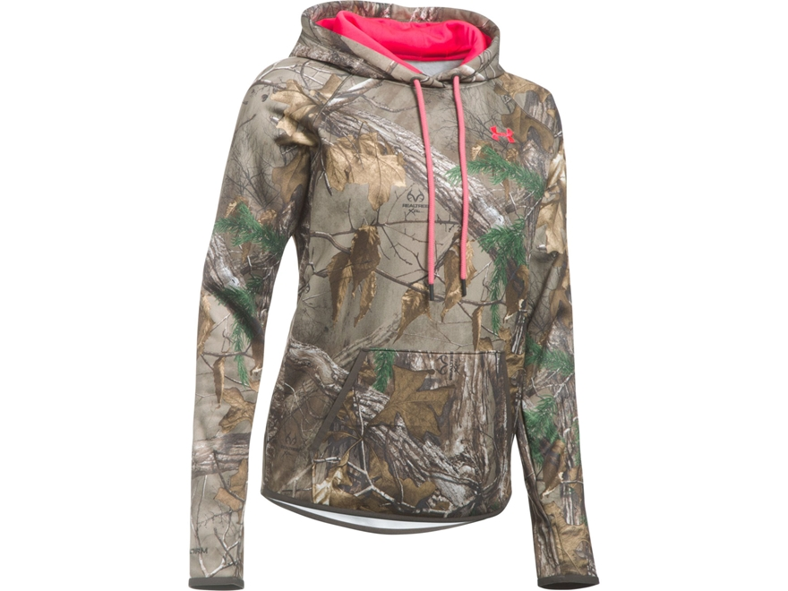 Under Armour Women's UA Icon Camo Hoodie Polyester