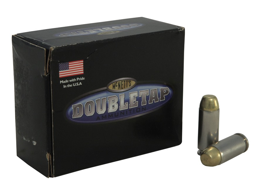 Doubletap Ammunition 10mm Auto 180 Grain Match Full Metal Jacket Box of 50