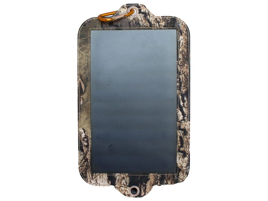 Covert Digital Game Camera Solar Panel