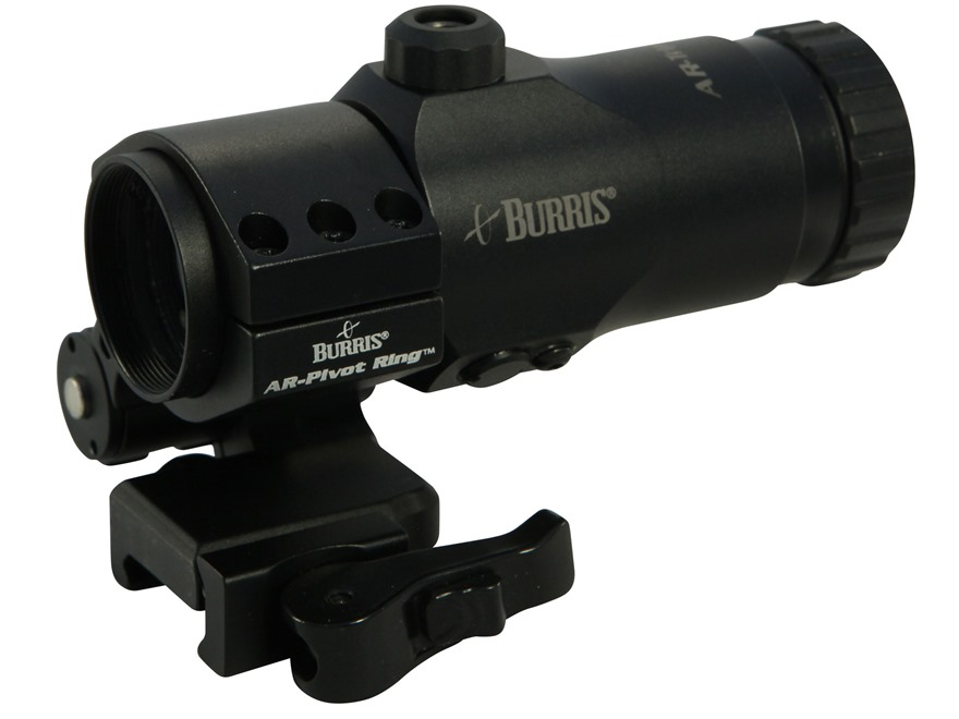 Burris AR-Tripler Gen2 30mm Tube 3x Magnifier with AR-QD Pivot Mount Extra-High Matte