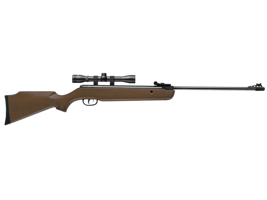 Crosman Vantage Spring Break Barrel Air Rifle 177 Caliber Pellet Hardwood Stock Blued B...