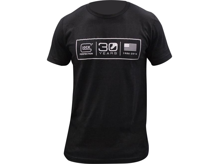 Glock Men's 30th Anniversary Logo T-Shirt Cotton Gray