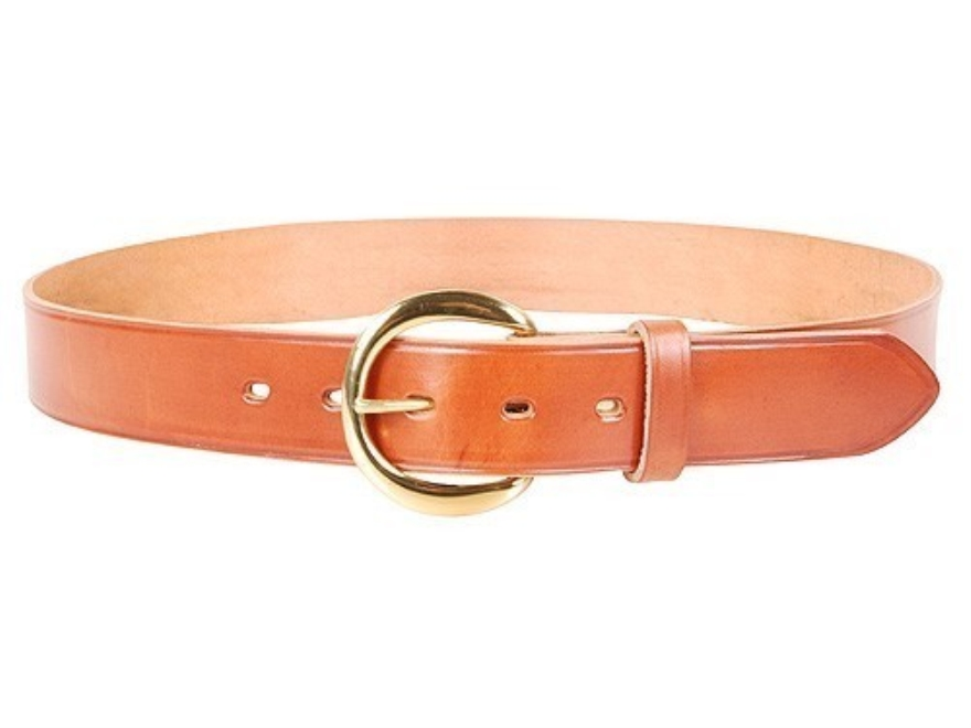 bianchi b5 dress belt 1 1 2 brass buckle leather 40