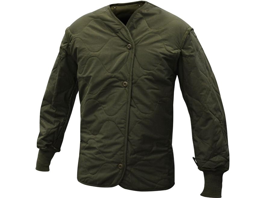 Military Surplus Flyer's Jacket Liner Olive Drab