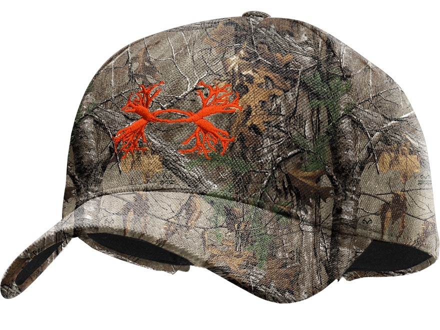 Under Armour UA Antler Cap Synthetic Blend Realtree Xtra Camo