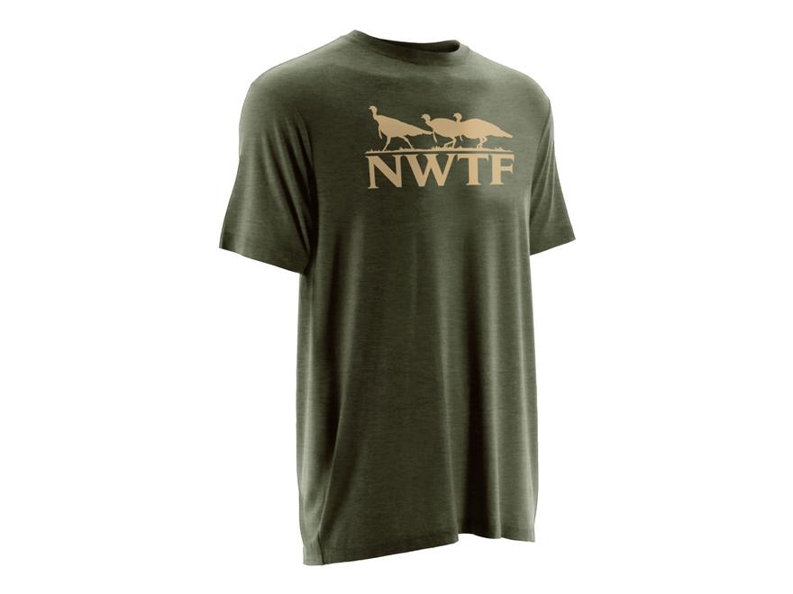 NOMAD Men's NWTF Logo T-Shirt Short Sleeve Tri-Blend
