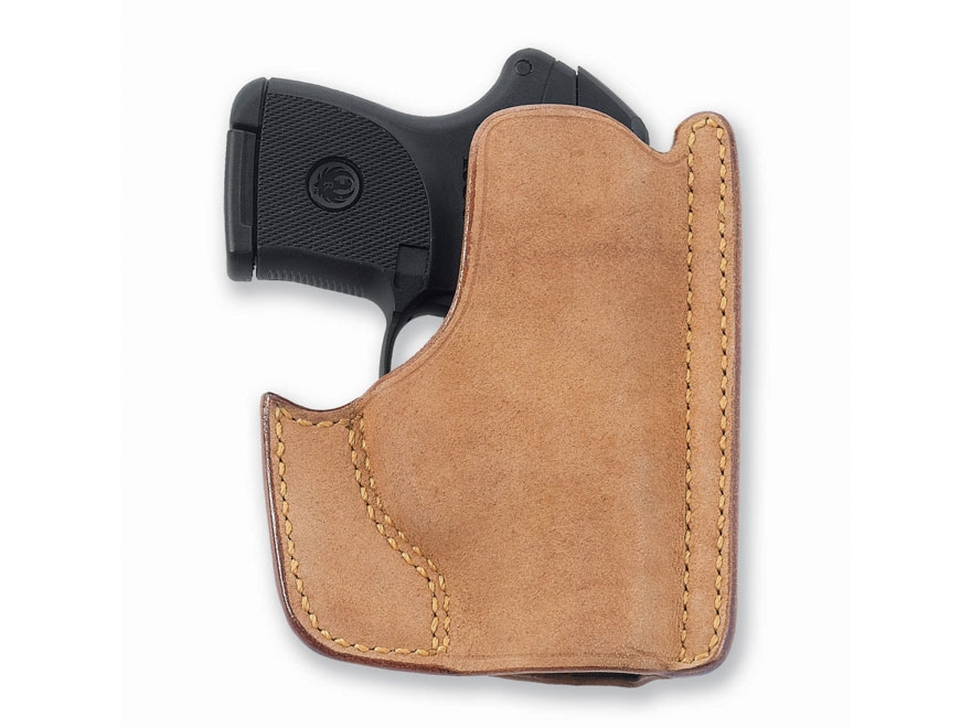 Galco Front Pocket Holster Ambidextrous Ruger LCP with CTC Laserguard Horsehide Leather...