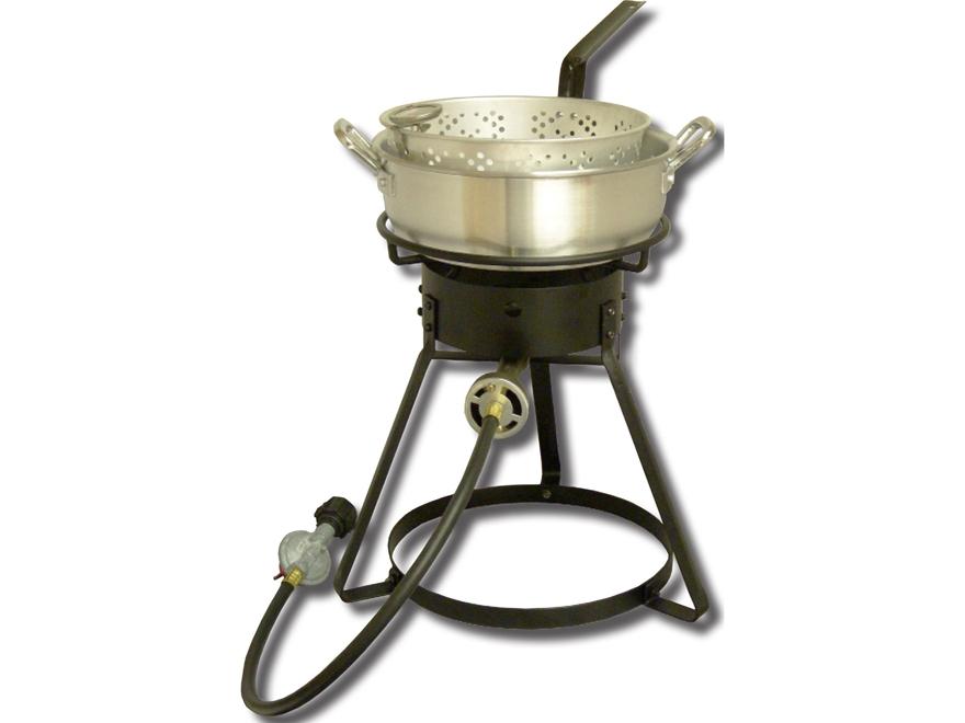 King kooker 7 qt propane deep fryer mpn 1642 for Propane fish fryer
