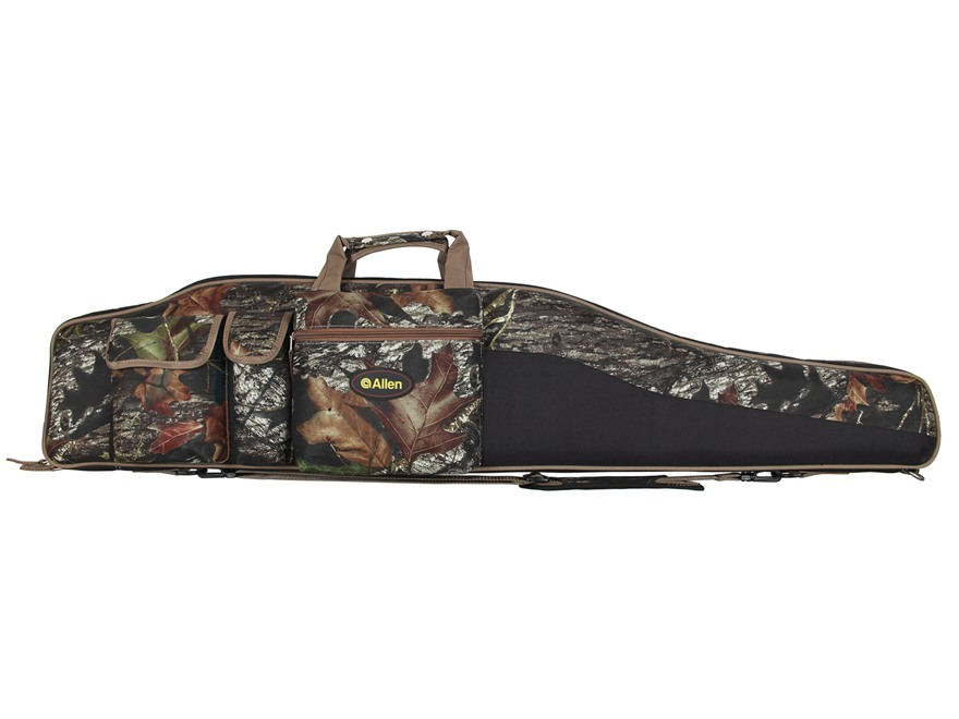 "Allen Tejon Oversized Scoped Rifle Case 50"" Nylon Mossy Oak Break-Up Camo"