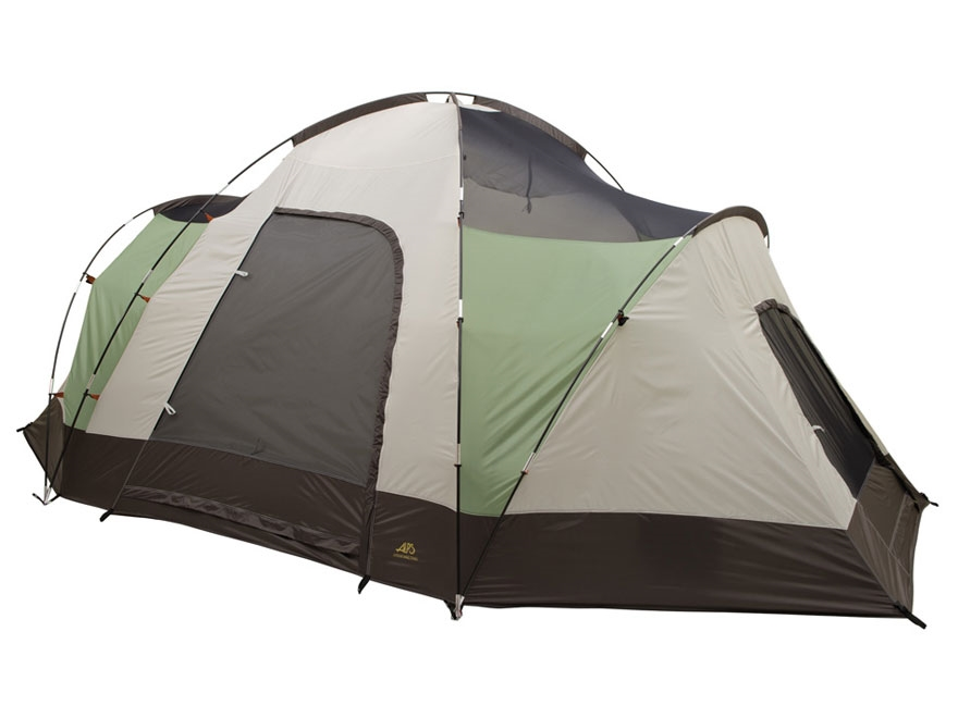 "ALPS Mountaineering Meramac Three-Room Tent with Floor Saver 10' x 16' x 6'2"" Polyester..."
