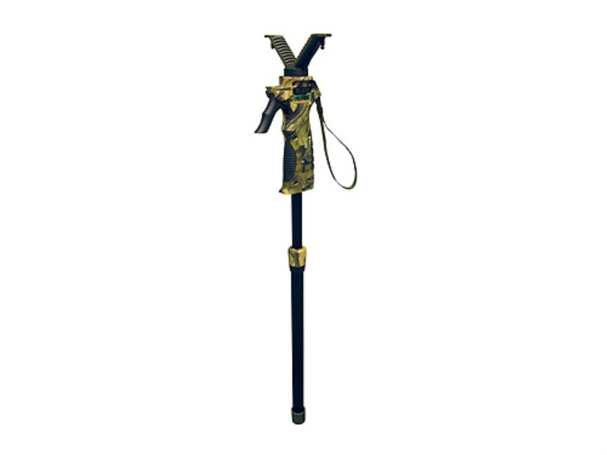 Primos Trigger Stick Short Monopod Shooting Sticks Polymer Mossy Oak Break-Up Camo