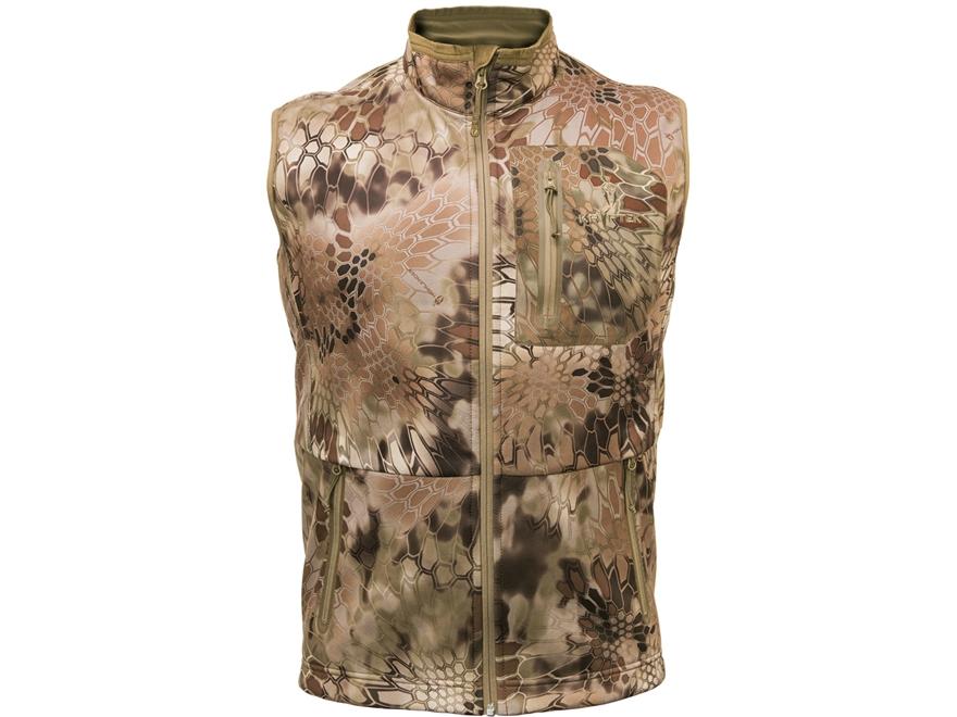 Kryptek Men's Cadog Softshell Windproof Vest Polyester