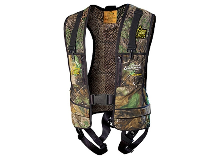 Hunter Safety System Pro Series HSS-600R Treestand Safety Harness Vest Realtree APG Cam...