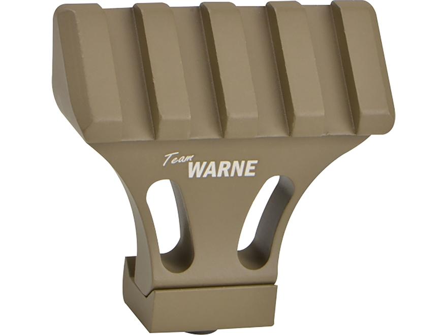 Warne 45 Degree Offset Picatinny Side Mount Adapter Aluminum