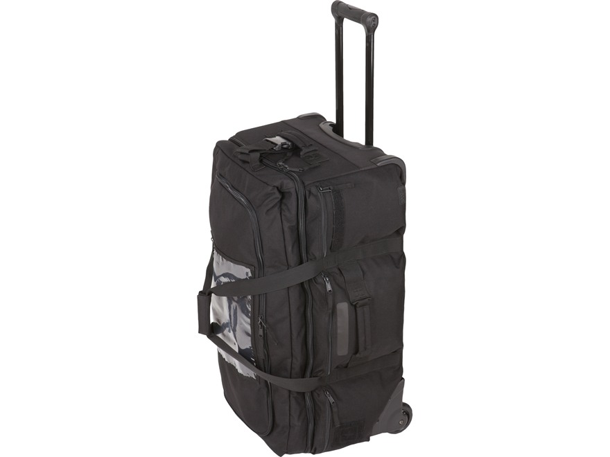 5.11 Mission Ready 2.0 Rolling Duffel Bag Nylon Black