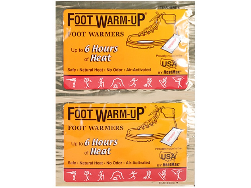 HeatMax The Foot Warmup Foot Warmer Pack of 6