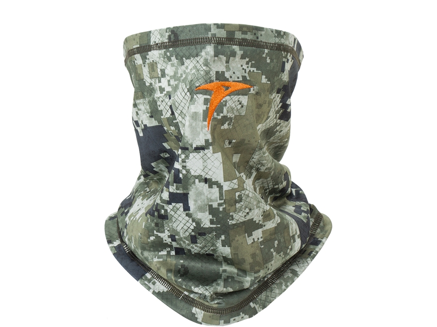 Plythal Midweight Neck Gaiter 2.0 Polyester Digital Forest Camo