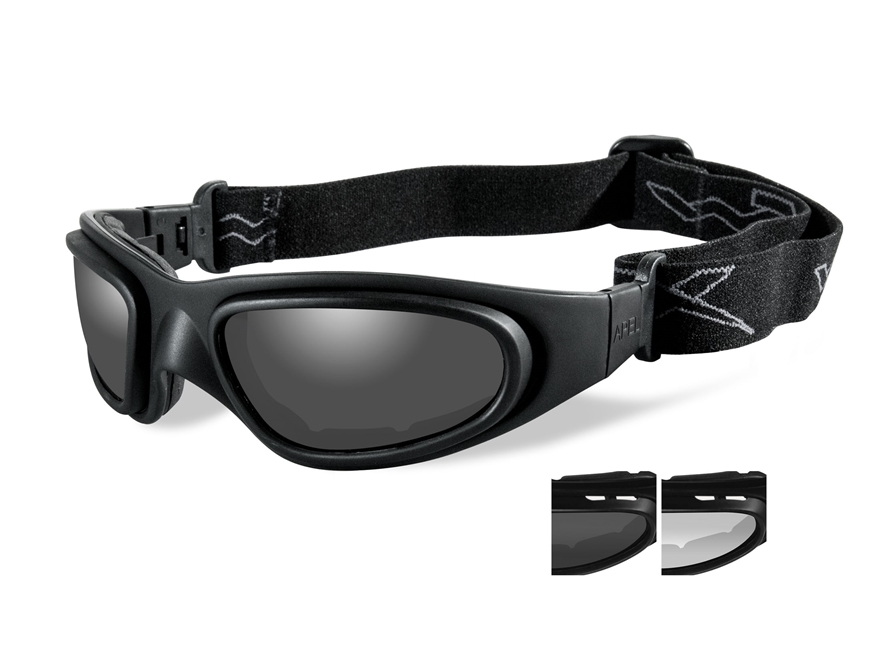 Wiley X SG-1 Tactical Goggles with Controlled Ventilation Clear, Smoke Lenses