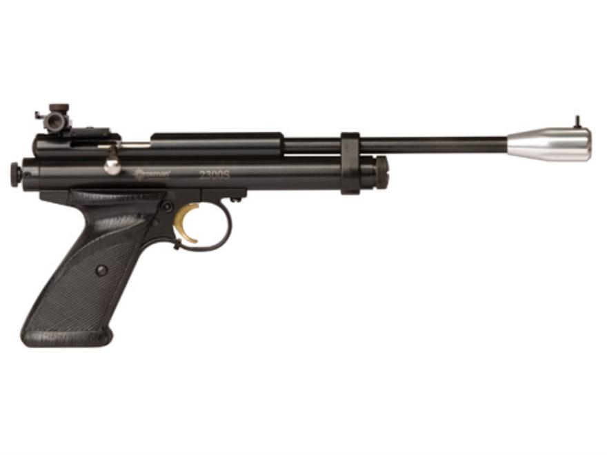 Crosman 2300S Competition Air Pistol 177 Caliber Pellet Zinc Alloy Black