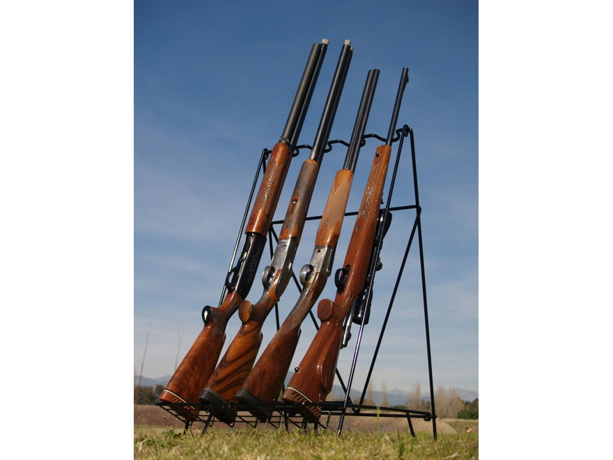 Versatile Gun Rack Portable Rifle & Shotgun Rack Vinyl Coated Steel ...