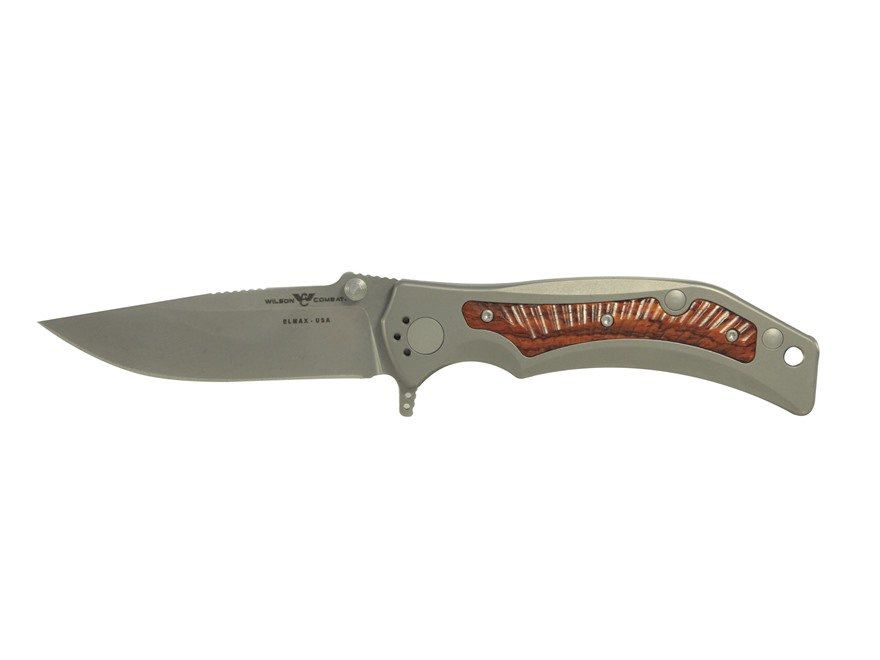 "Wilson Tactical RRX Rapid Response XL Folding Knife 3.62"" Drop Point Powdered ELMAX Sta..."