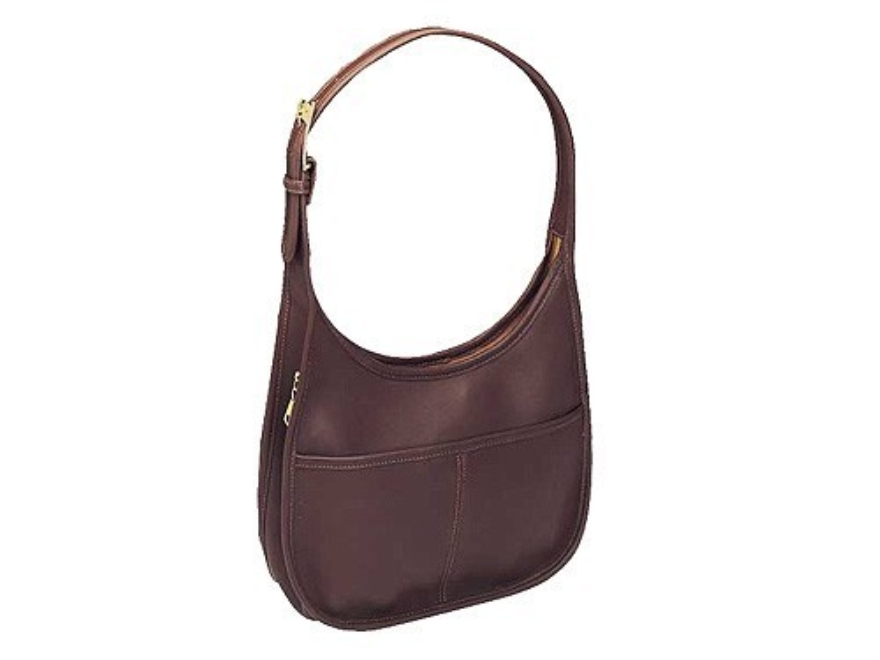 Galco Meridian Holster Handbag Small, Medium Frame Automatic Leather Brown