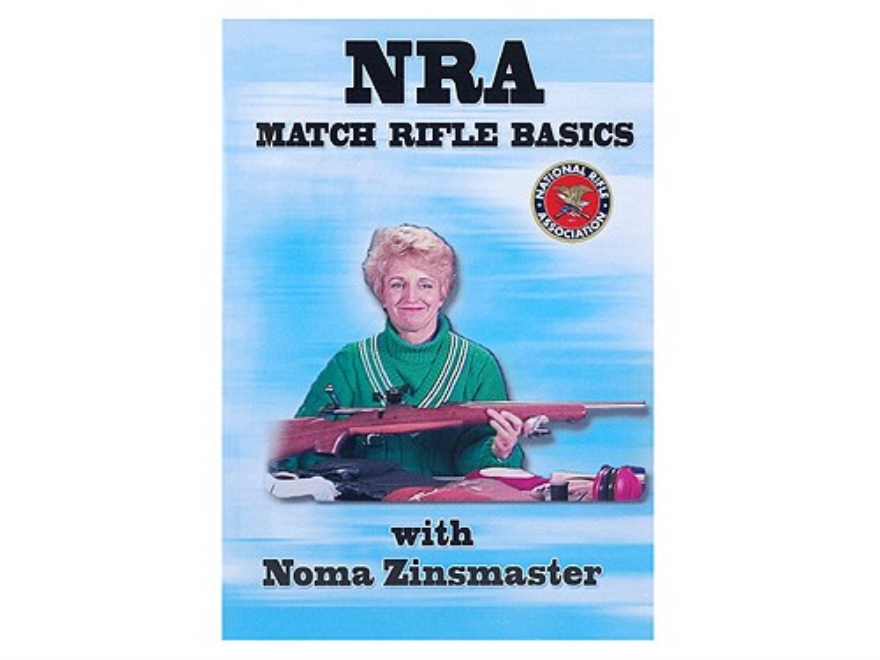 "Gun Video ""NRA Match Rifle Basics With Noma Zinsmaster"" DVD"