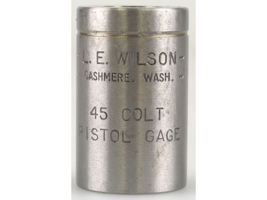 L.E. Wilson Max Cartridge Gauge 45 Colt (Long Colt)