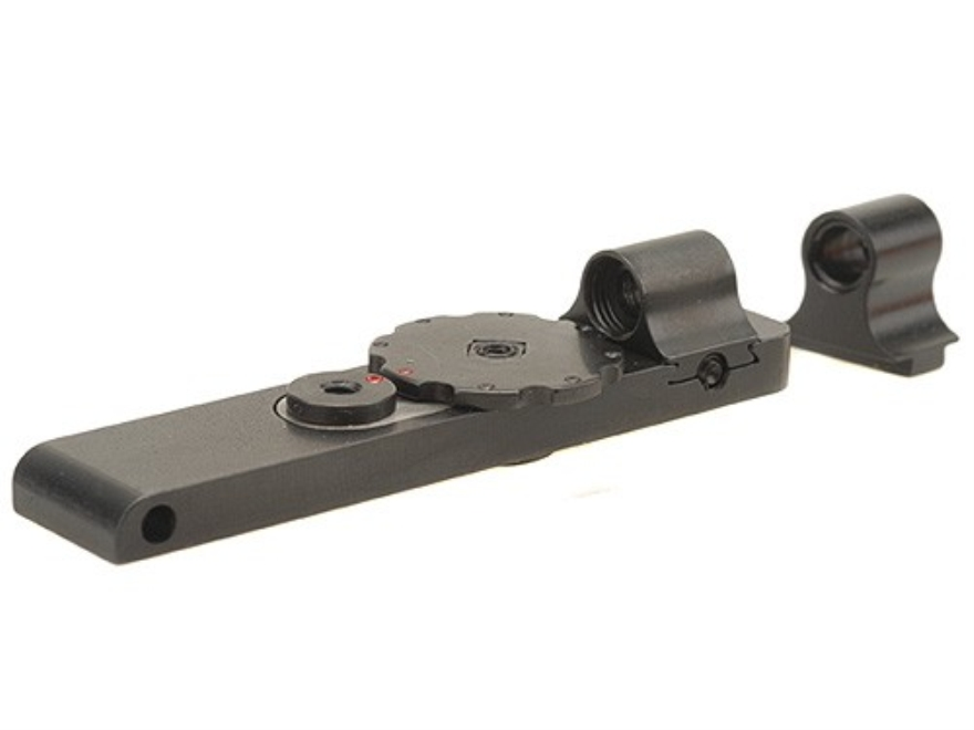 Mojo Micro Click Snap Sight Front and Rear Set Swedish Mauser 38 Steel Blue