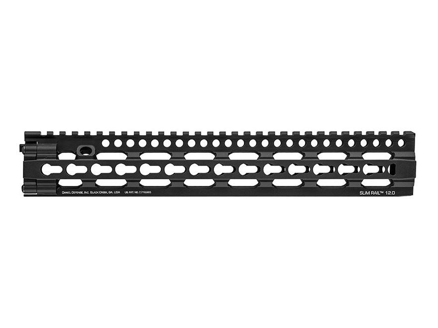 Daniel Defense SLIM Rail KeyMod Free Float Handguard AR-15 Aluminum Black