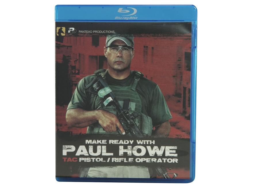 "Panteao ""Make Ready with Paul Howe: Tac Pistol/Rifle Operator"" Blu-Ray"