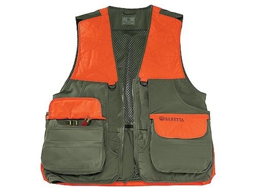 Beretta Mens Cordura Field Vest Cotton and Cordura