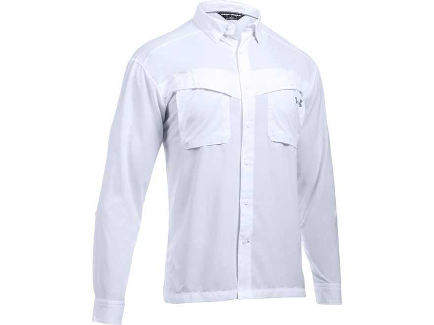 Under Armour Men's UA Tide Chaser Button-Up Shirt Long Sleeve Polyester