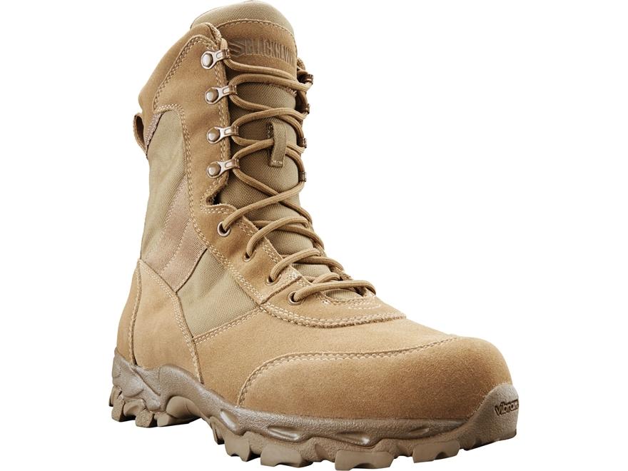 "BLACKHAWK! Desert Ops 8"" Tactical Boots Leather/Nylon Men's"