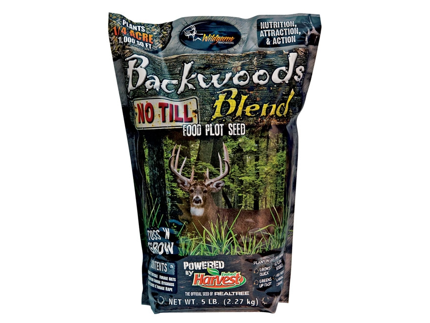 Wildgame Innovations Backwoods Blend No Till Annual Food Plot Seed 5 lb
