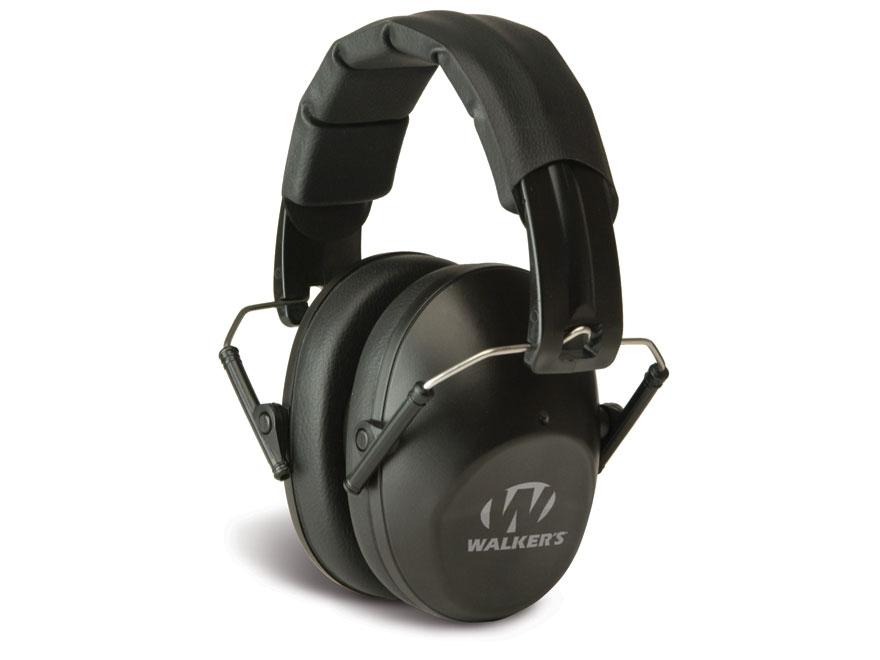 Walker's Pro-Low Profile Folding Earmuffs (NRR 22dB)