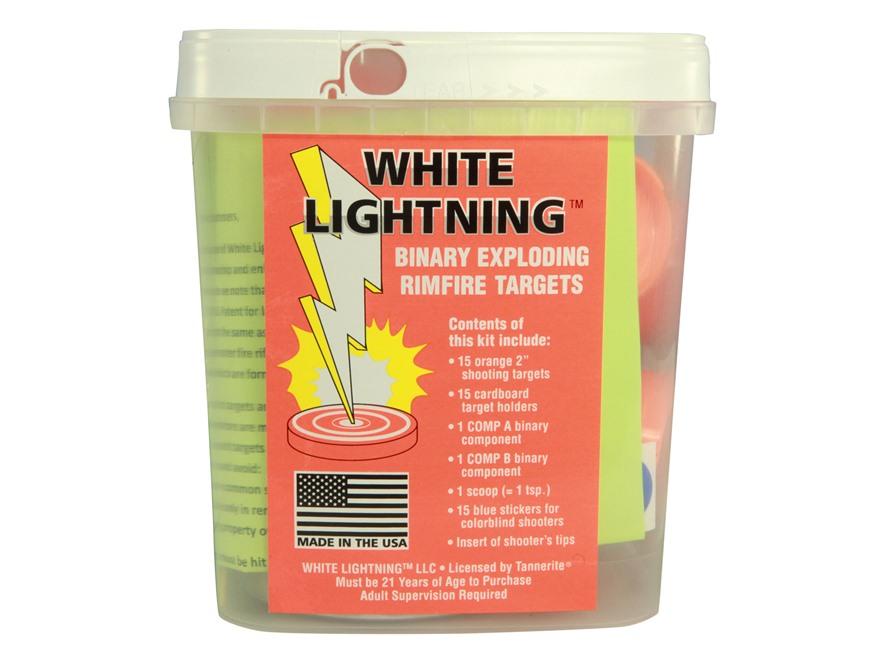 Tannerite White Lightning Rimfire Exploding Target Pack of 15