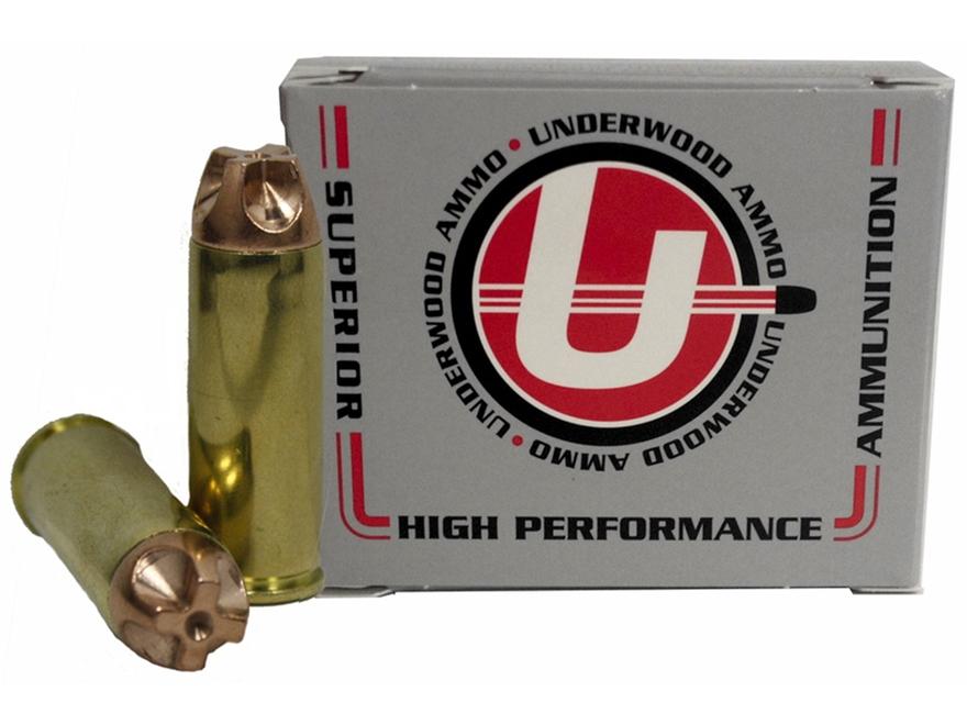 Underwood Ammunition 45 Colt (Long Colt) +P 250 Grain Lehigh Xtreme Penetrator Lead-Fre...