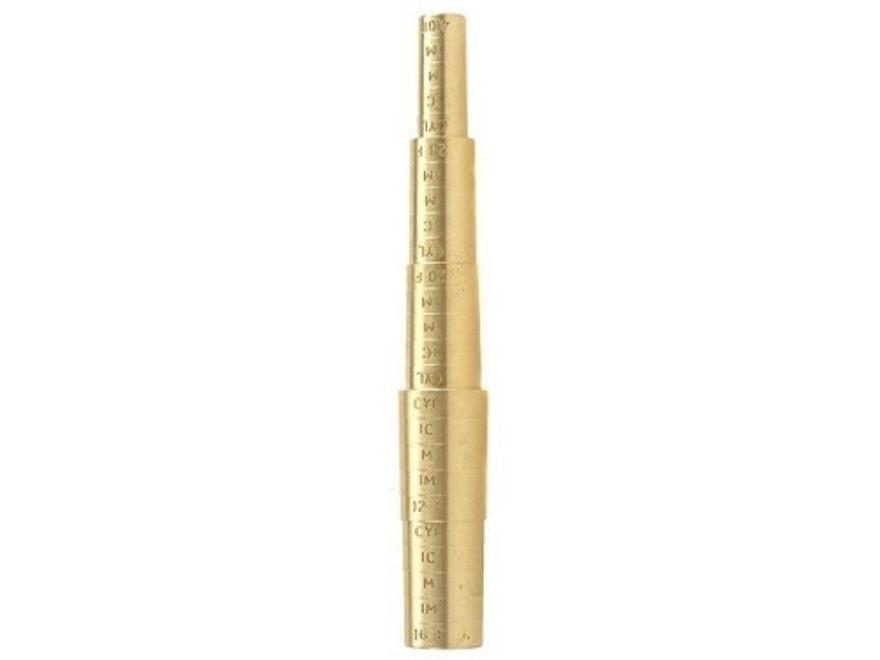Galazan Choke Gauge 12, 16, 20, 28 Gauge, 410 Bore Brass