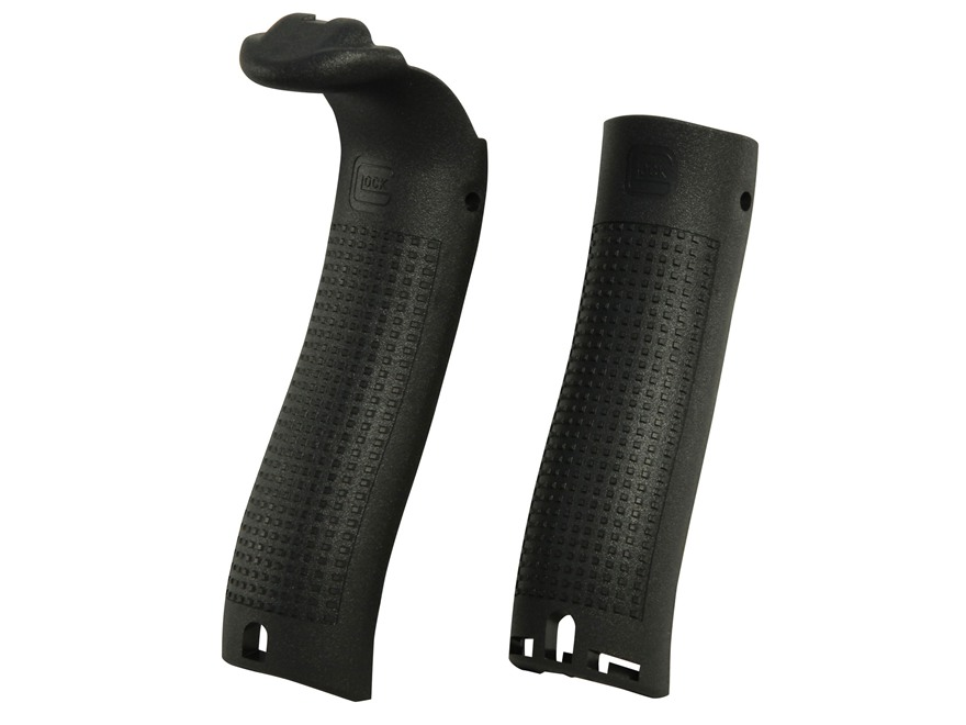 Glock Generation 4 Beavertail Backstrap Kit Glock 17, 22, 31, 34, 35, 37 Polymer Black