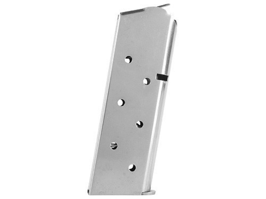Colt Magazine 1911 Officer, Colt Defender, New Agent 45 ACP 7-Round Matte Stainless Steel