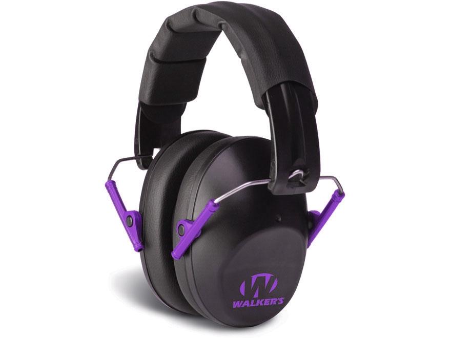 Walker's Pro-Low Profile Folding Earmuffs (NRR 31 dB)