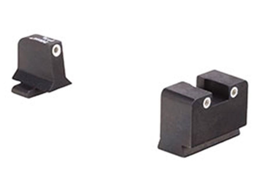 Trijicon Bright & Tough Suppressor Night Sight Set Sig Sauer 9mm, 357 Sig Steel Matte 3...