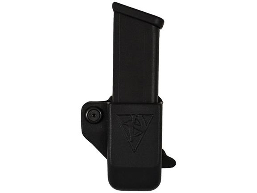 Comp-Tac Single Magazine Pouch Glock 43 Kydex Black