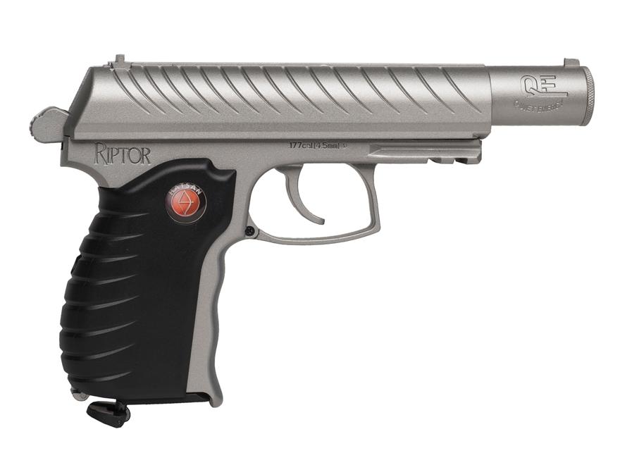 Hatsan Riptor Air Pistol 177 Caliber Pellet Metal Grip Black