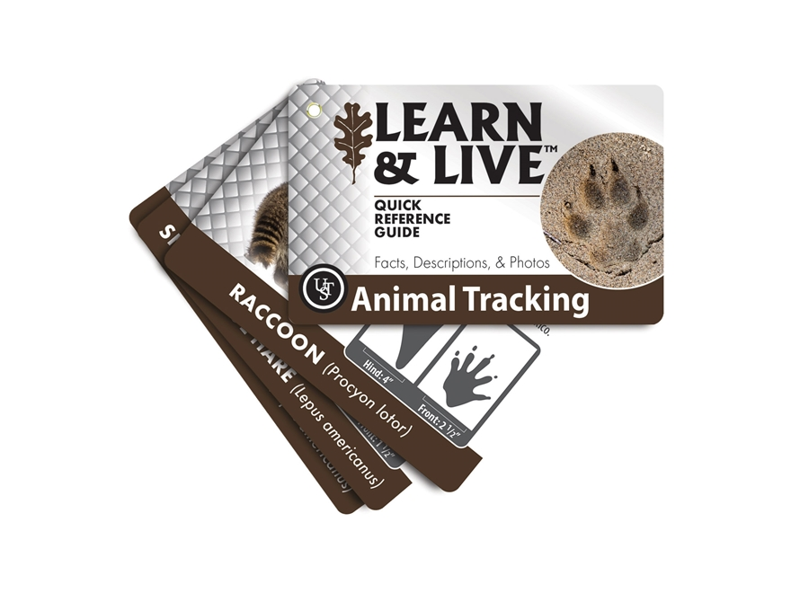 UST Learn & Live Animal Tracking Cards